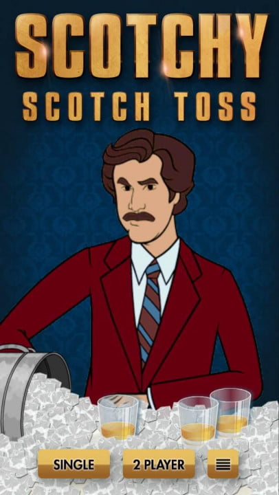 anchorman  scotchy scotch toss photo ( )