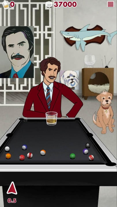 anchorman  scotchy scotch toss