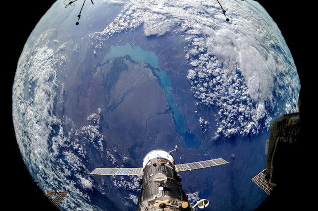 photo from ISS