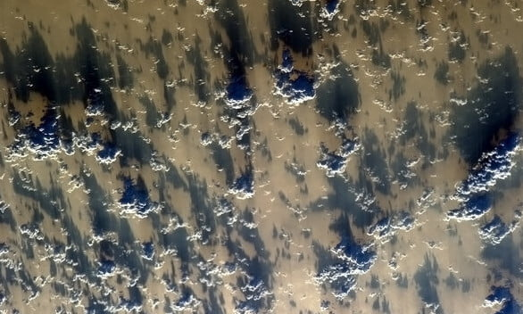 photo from space station