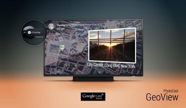 PhotoCast chromecast screenshot