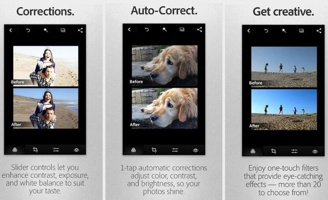 adobe rolls out major photoshop express redesign for android update