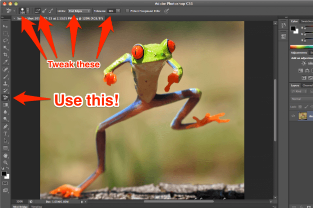 How to remove the background from a photo or image page for Removethebackground com