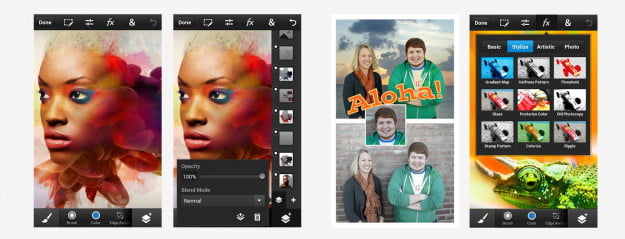 photoshop touch screenshots