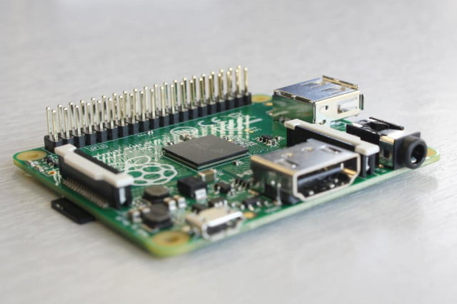 raspberry pi model a is smaller cheaper than