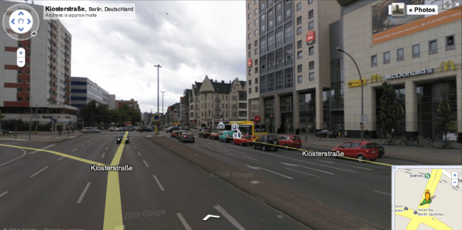 Google Street View Germany