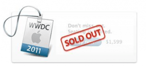 Apple WWDC ticket