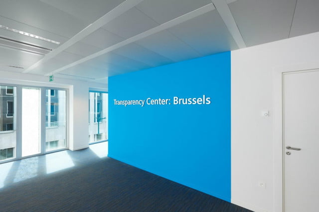 microsoft opens transparency center in brussels picture