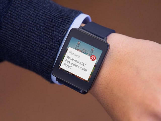 paypal google maps pinterest among first android wear ready apps