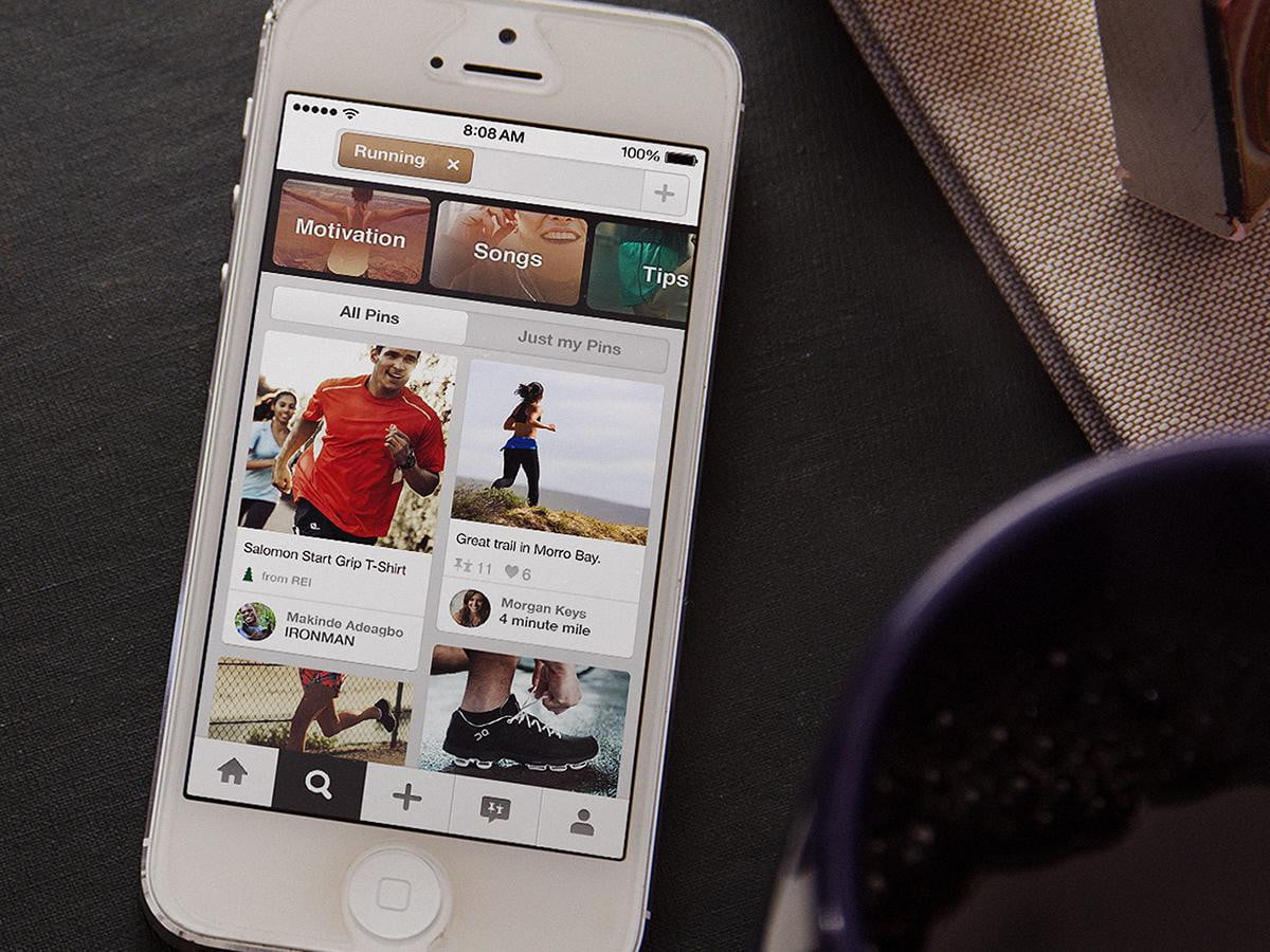 pinterest adds new search tools wants men mobile