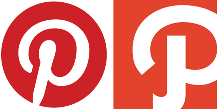 Pinterest and Path are...P Logo Name