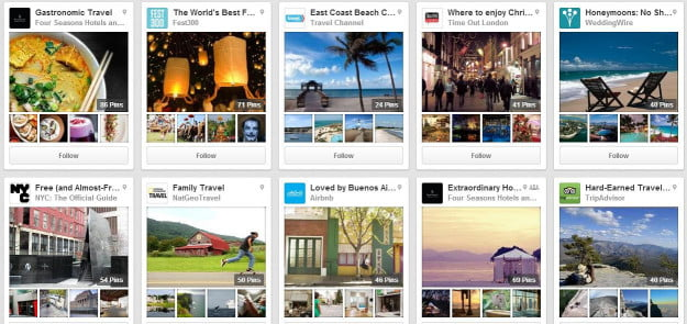 pinterest special feed
