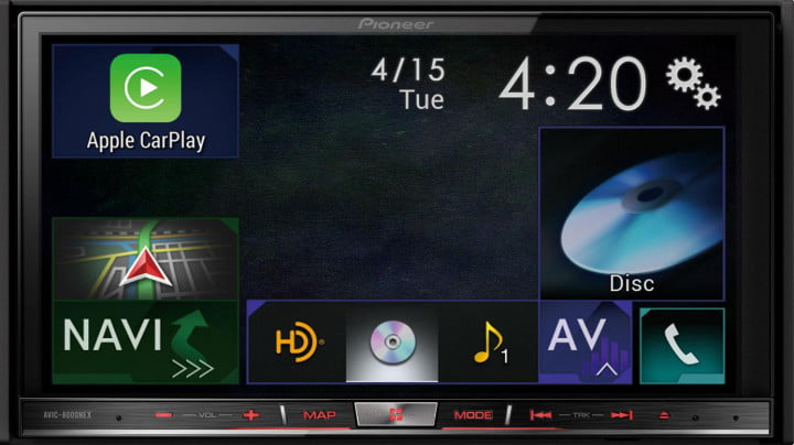 apples carplay reinvigorate aftermarket car stereo industry pioneer avic  nex main dpi in