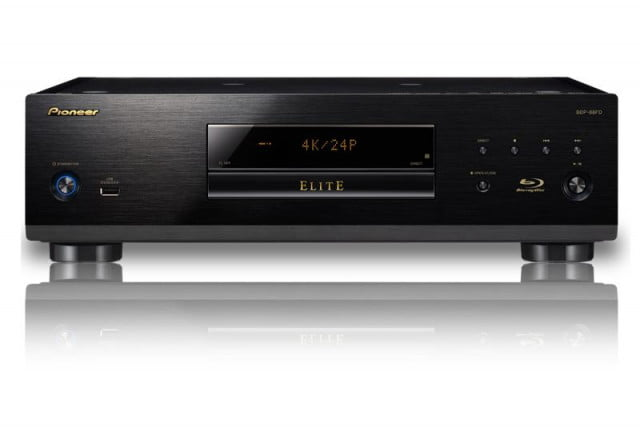 pioneer unveils pair audiophile geared elite blu ray players bdp  fd large