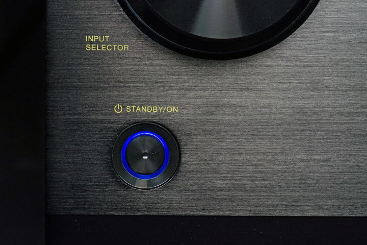 pioneer elite sc  review power button