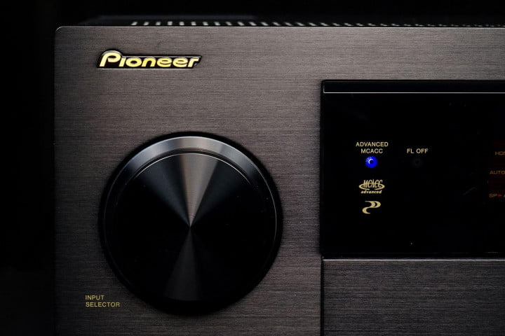 pioneer elite sc  review volume control