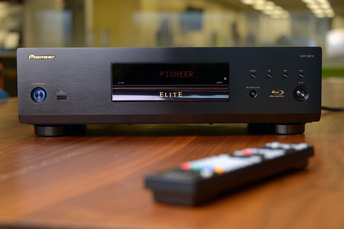 pioneer bdp  fd blu ray player flagship first look video bluray