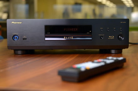 Pioneer flagship Bluray player