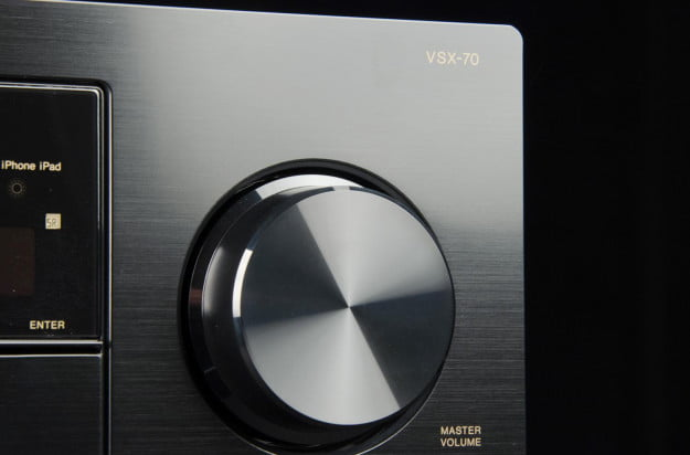 Pioneer VSX 70 AV receiver review volume dial
