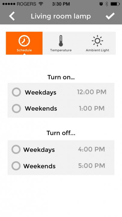 piper home security system review screenshot schedule