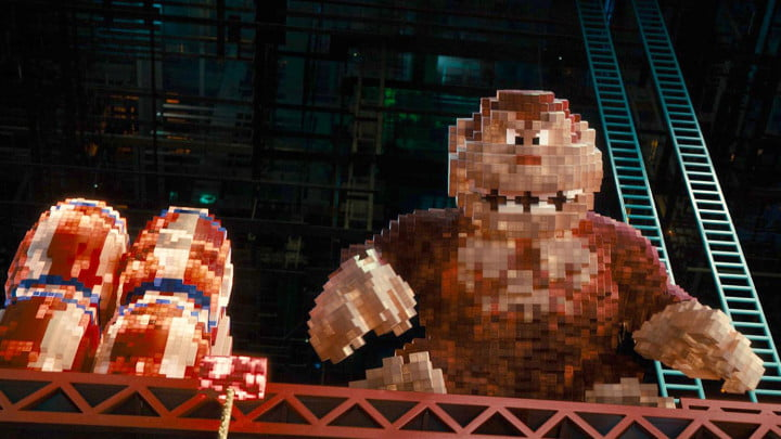 pixels review movie