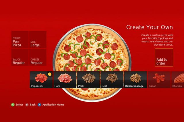 xbox sofa loafers order  million worth of pizza through hut app