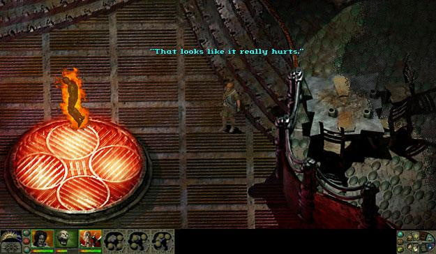 Screenshot from Planescape:Torment