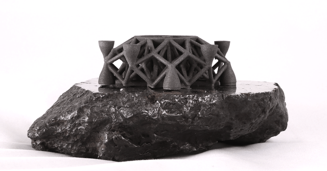 planetary resources alien metal  d printed object planetaryresources dsystems meteorite low