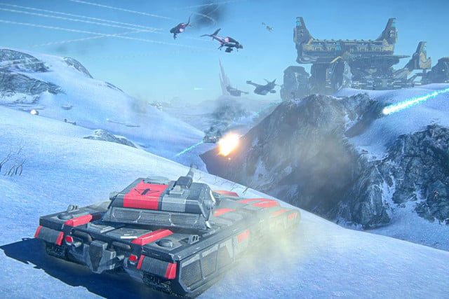 planetside  s sprawling intercontinental multiplayer comes ps january gallery