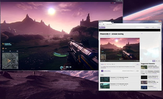 PlanetSide2 Streaming on Twitch
