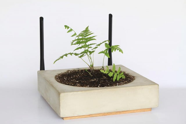 grow garden router planter