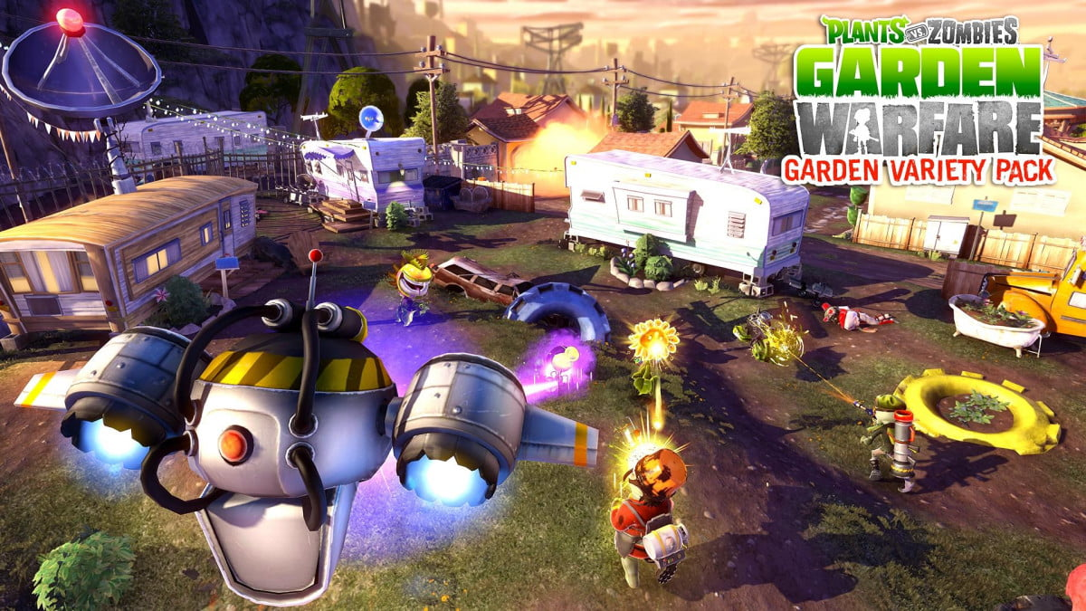 free add plants vs zombies garden warfare adds new mode map now  variety pack