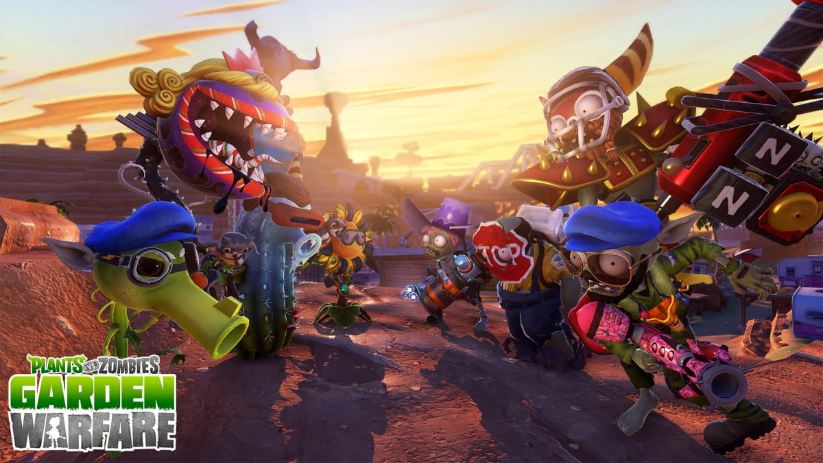 plants vs zombies garden warfare coming playstation august ps