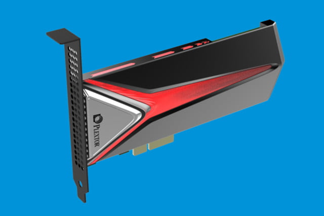 after a shaky start plextor is back with the nvme equipped m pe ssd line plaxtor pci e  large