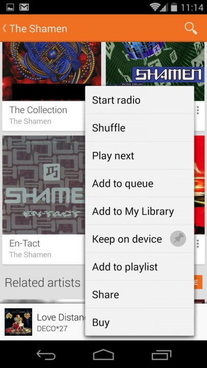 google play music update adds offline radio feature access subscribers keep on device