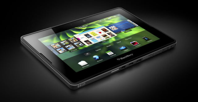 playbook angle  black blackberry
