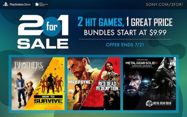 Playstation Store 2for1