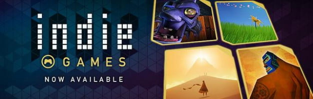 PlayStation Store indie games section