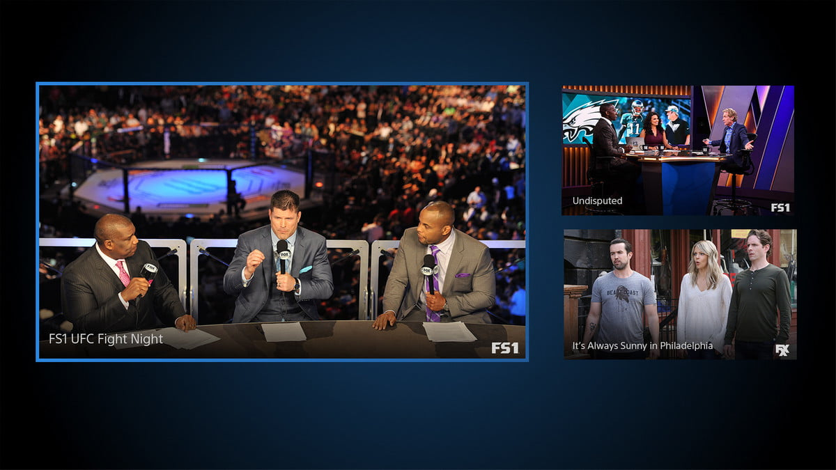 playstation vue adds multi view on ps