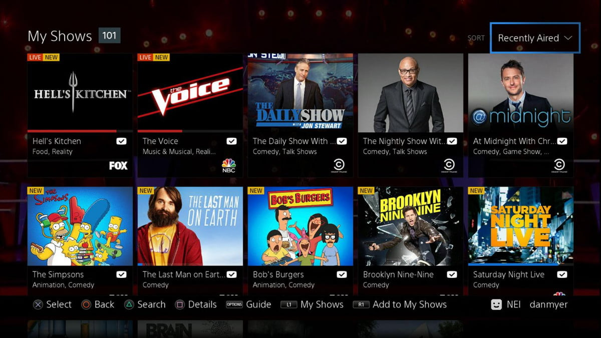 playstation vue dallas miami