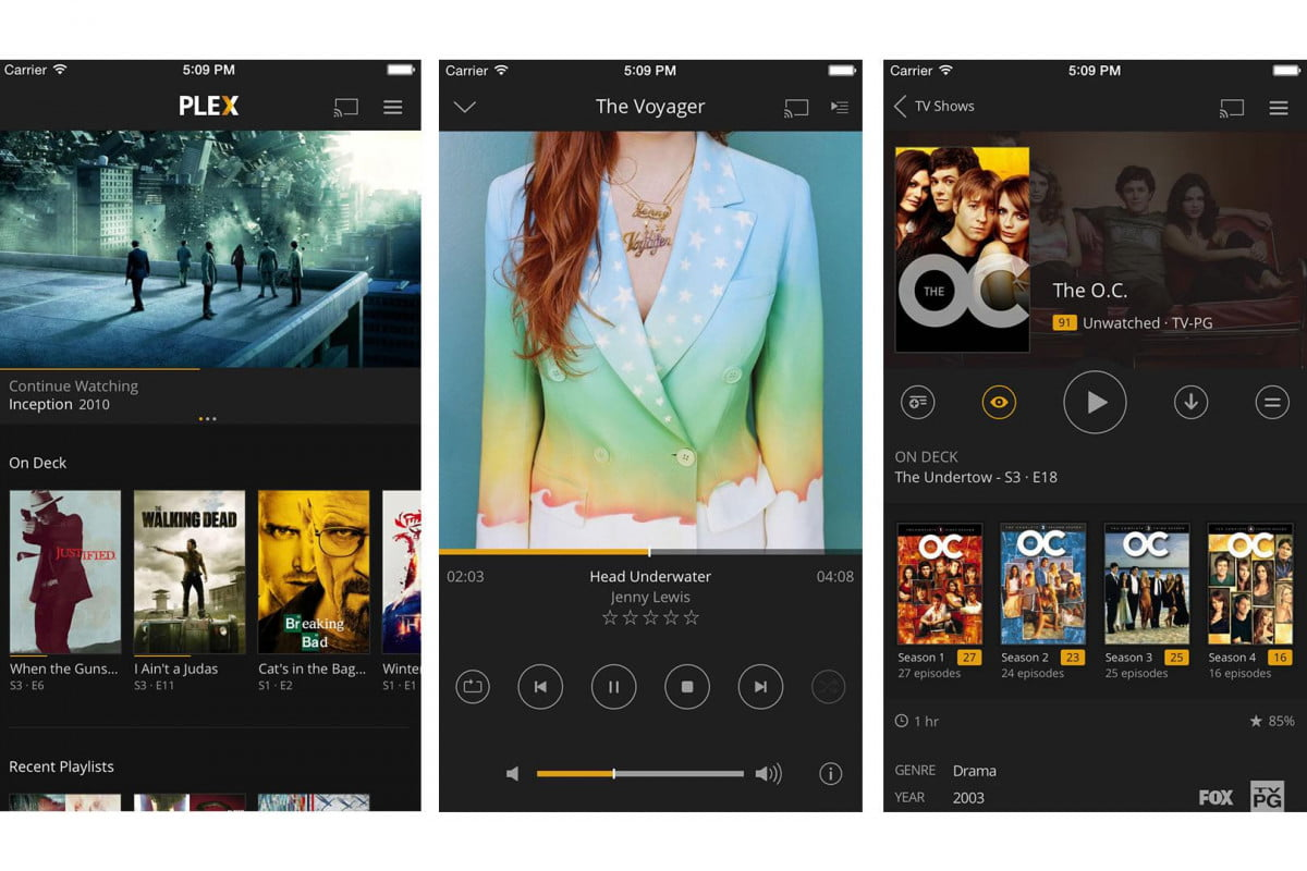 plex for ios gets total redesign video chapter support now free