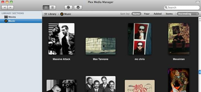 Plex media manager for mac