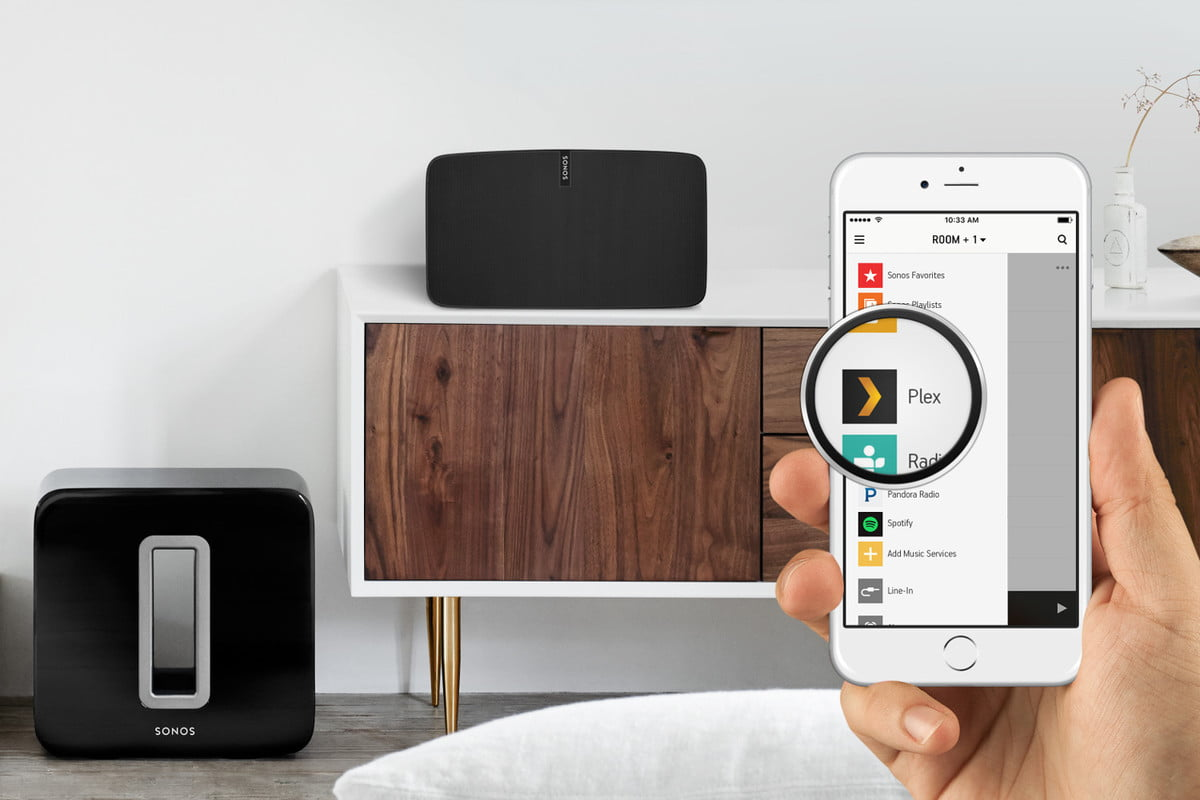 plex now available for sonos systems