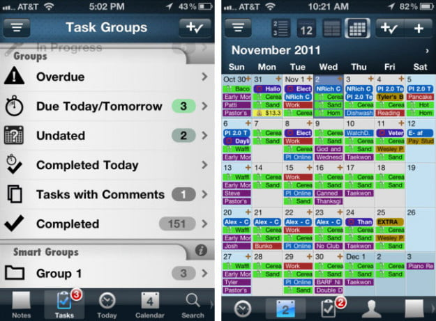 Pocket-Informant-ipod-touch-app-screenshot