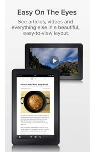 pocket screenshot read it later kindle app