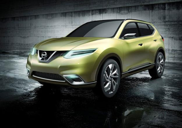 Poised for Paris Nissan electric SUV concept to debut at Paris Motor Show
