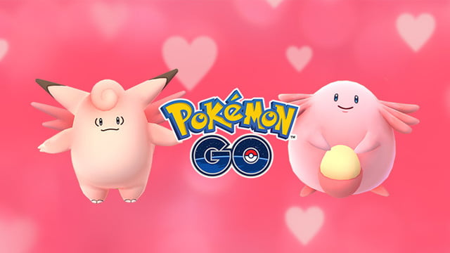pokemon go valentines pokeclefairy