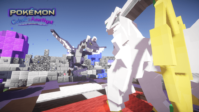 complete pokemon game created in minecraft poke  mon cobalt and amethyst