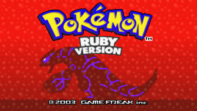 pokemon ruby and sapphire  ds remakes
