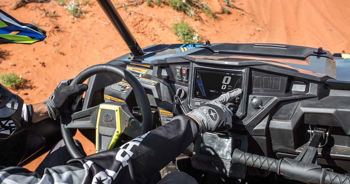 Polaris Ride Command Technology Keeps Off-roaders Connected on the Trail